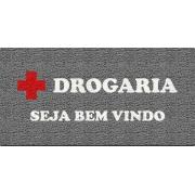 Capacho Personalizado para Drogarias | CINZA