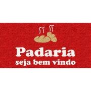 Capacho Personalizado para Padaria | Vermelho