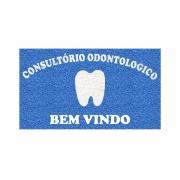 Capacho Personalizado Consultório Odontológico Tamanho 120x60 cm