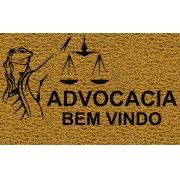 Capacho Personalizado Advocacia (T) | Ouro