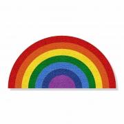 Tapete Capacho Arco-Íris LGBT 80x40 cm