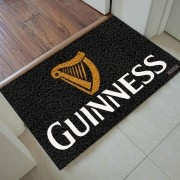 Tapete Capacho Cerveja Guinness  - 60 X 40cm