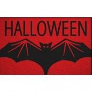 Tapete Capacho Halloween Morcego 60x40 cm