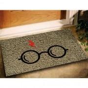 Tapete Capacho Harry Potter 60x40cm bege