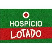 Tapete Capacho Hospício Lotado - 60x40 cm