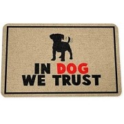 Tapete Capacho In Dog We Trust 40x60 cm