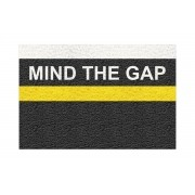 Tapete Capacho Mind The Gap 60x40 cm