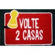 Tapete Capacho Nerd Volte 2 Casas 40x60 cm