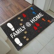 Tapete Capacho Personalizado - Family Home 60x40 cm