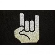 Tapete Capacho Rock in Roll 60x40 cm