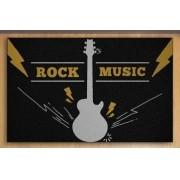 Tapete Capacho Rock Music 60x40 cm