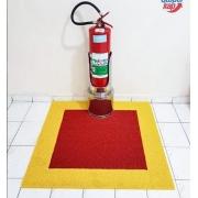 Tapete Marcação Extintor  (BOMBEIRO)