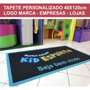 TAPETE PERSONALIZADO 40X120CM OU 120X40 CM