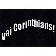 Tapete personalizado do Vai Corinthians!!! 60x40 cm