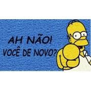 Tapete Personalizado Homer Oh Não Você De Novo 75x40 cm