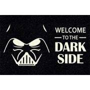 Tapete personalizado welcome to the dark side 60x40 cm