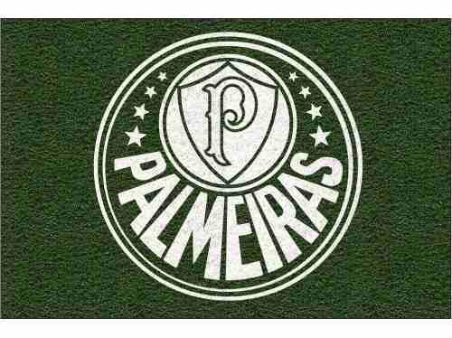 Tapete personalizado do Palmeiras 60x40cm  - Zap Tapetes e Capachos Personalizados