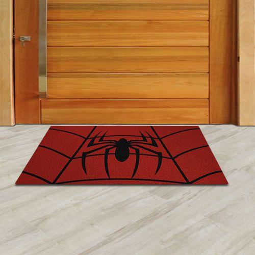 Capacho Divertido Geek Homem Aranha 60x40cm  - Zap Tapetes e Capachos Personalizados