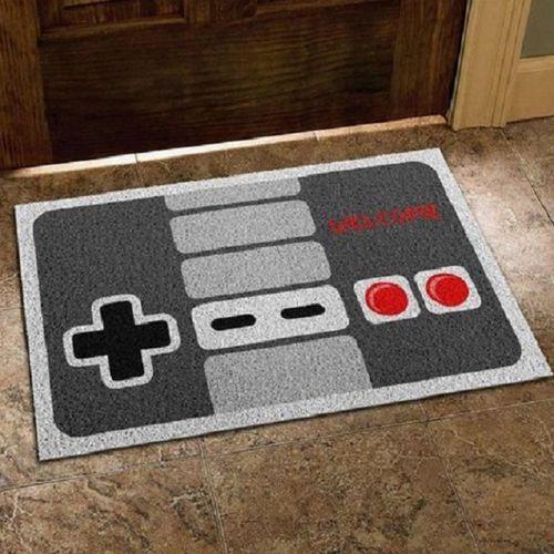Capacho Em Vinil Gamer Joystick Nintendo 40x60 cm  - Zap Tapetes e Capachos Personalizados