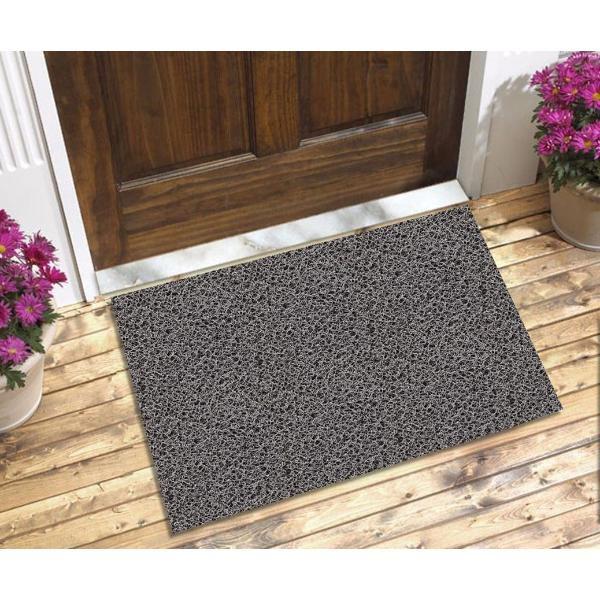 Capacho Para Porta De Apartamento Cor Cinza 110x60 cm  - Zap Tapetes e Capachos Personalizados