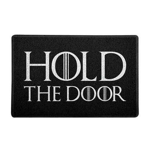 Capacho Para Porta De Apartamento Hold The Door - Game Of Thrones 60x40 cm  - Zap Tapetes e Capachos Personalizados