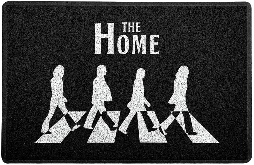 Capacho Tapete 60x40cm - The Beatles Home Page  - Zap Tapetes e Capachos Personalizados
