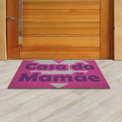 Tapete Capacho dias das mães  60x40 cm  - Zap Tapetes e Capachos Personalizados