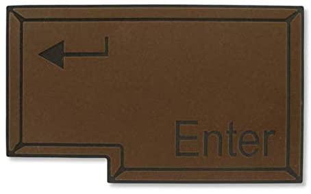 Tapete Capacho Enter 60x40cm  - Zap Tapetes e Capachos Personalizados