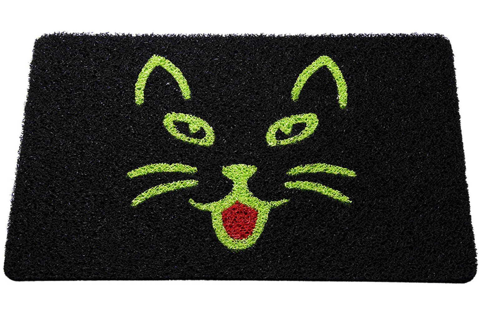Tapete capacho gato 60x40 Cm  - Zap Tapetes e Capachos Personalizados