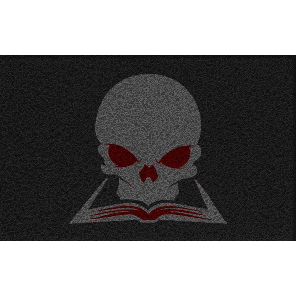 Tapete Capacho Halloween Caveira 60x40 Cm  - Zap Tapetes e Capachos Personalizados