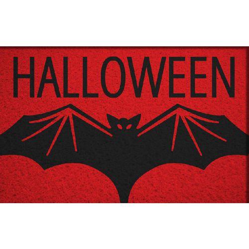 Tapete Capacho Halloween Morcego 60x40 cm  - Zap Tapetes e Capachos Personalizados