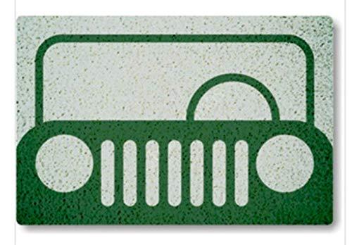 Tapete Capacho Jeep 60X40 cm.  - Zap Tapetes e Capachos Personalizados