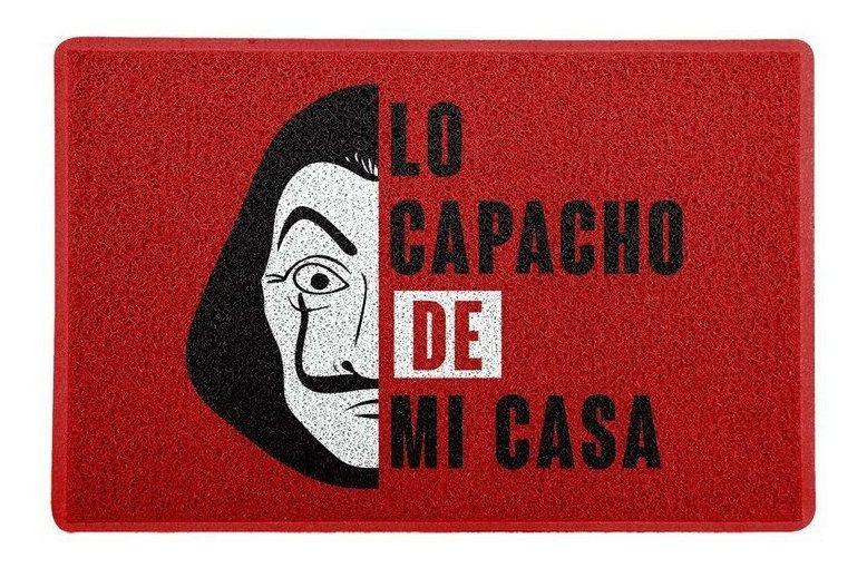 Tapete Capacho Lo Capacho De Mi Casa - 60x40 cm  - Zap Tapetes e Capachos Personalizados