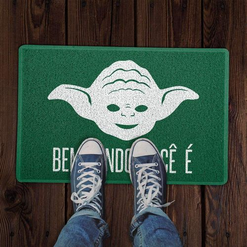 Tapete Capacho Mestre Yoda Star Wars 60x40cm  - Zap Tapetes e Capachos Personalizados