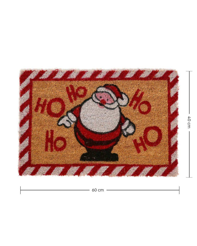 Tapete capacho Natal Papai Noel 60x40cm  - Zap Tapetes e Capachos Personalizados
