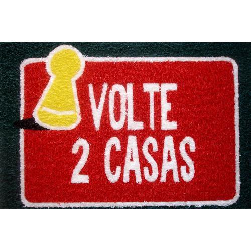 Tapete Capacho Nerd Volte 2 Casas 40x60 cm  - Zap Tapetes e Capachos Personalizados