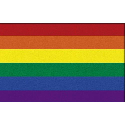 Tapete Capacho Personalizado LGBT 60x40cm  - Zap Tapetes e Capachos Personalizados