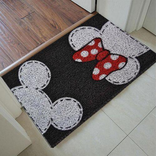 Tapete Capacho Personalizado - Mickey e Minnie 60x40   - Zap Tapetes e Capachos Personalizados