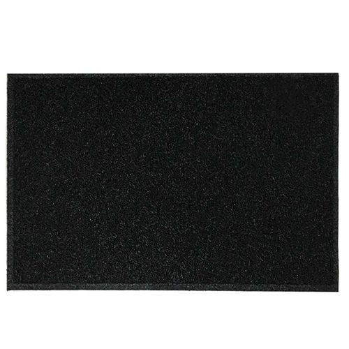 Tapete Capacho Preto 40 x 60 cm  - Zap Tapetes e Capachos Personalizados