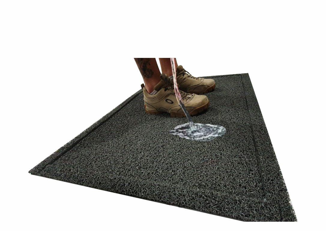 Tapete Capacho Sanitizante Pedilúvio 100 x 60 cm  - Zap Tapetes e Capachos Personalizados