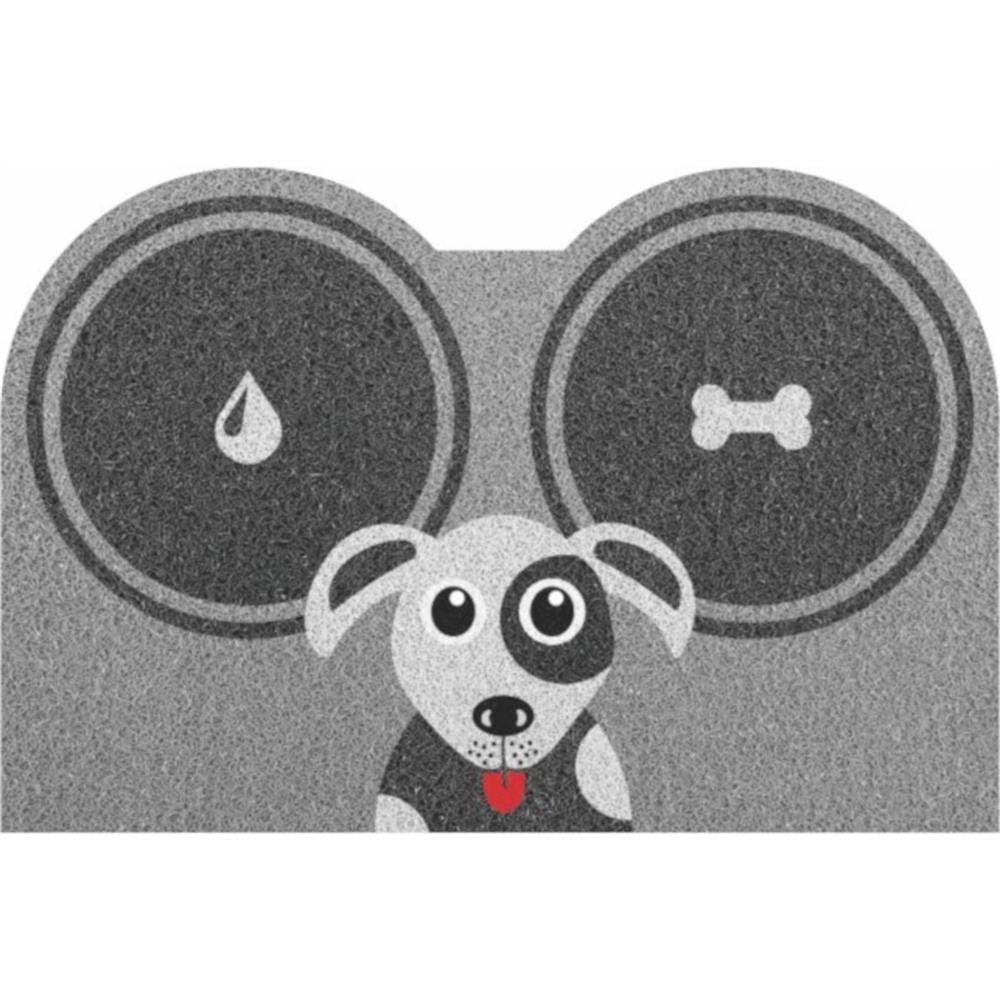 Tapete Hora do Lanche Dog Pet 60x40cm  - Zap Tapetes e Capachos Personalizados