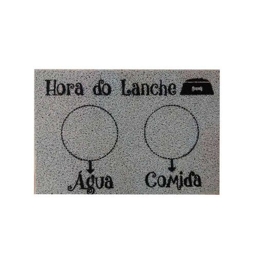 Tapete Hora do Lanche Pet 60x40cm  - Zap Tapetes e Capachos Personalizados
