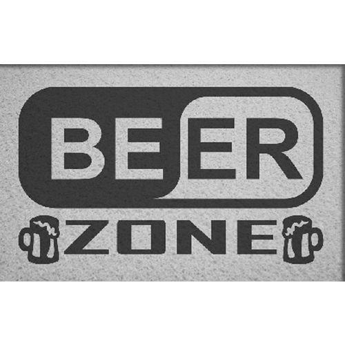 Tapete para Apartamento Beer Zone 60x40 cm  - Zap Tapetes e Capachos Personalizados