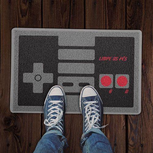 Tapete para Apartamento Controle Game Retrô 60x40 cm  - Zap Tapetes e Capachos Personalizados