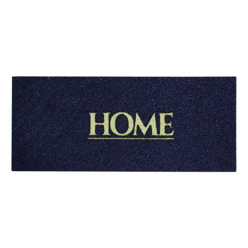 Tapete Para Porta de Apartamento Home 70x30 cm az. marinho  - Zap Tapetes e Capachos Personalizados