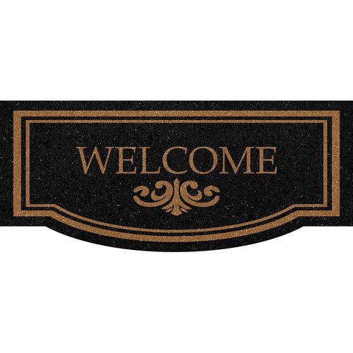 Tapete para Porta de Apartamento Welcome  30x70cm  - Zap Tapetes e Capachos Personalizados