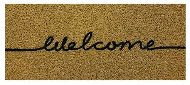 Tapete Para Porta de Apartamento Welcome 70x30 cm  - Zap Tapetes e Capachos Personalizados