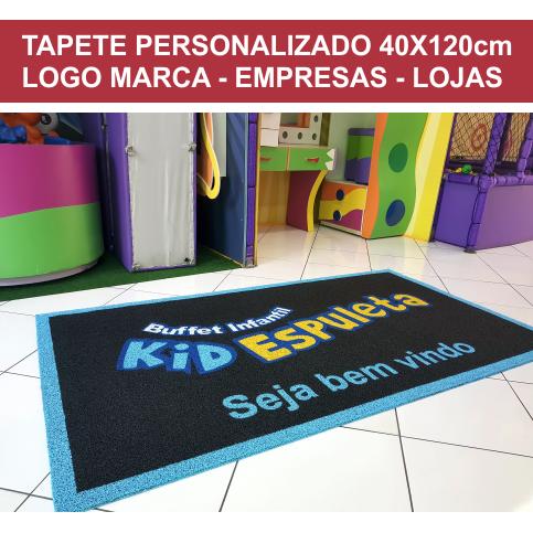 TAPETE PERSONALIZADO 40X120CM OU 120X40 CM  - Zap Tapetes e Capachos Personalizados
