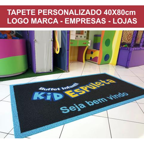 TAPETE PERSONALIZADO 40X80CM OU 80X40 CM  - Zap Tapetes e Capachos Personalizados