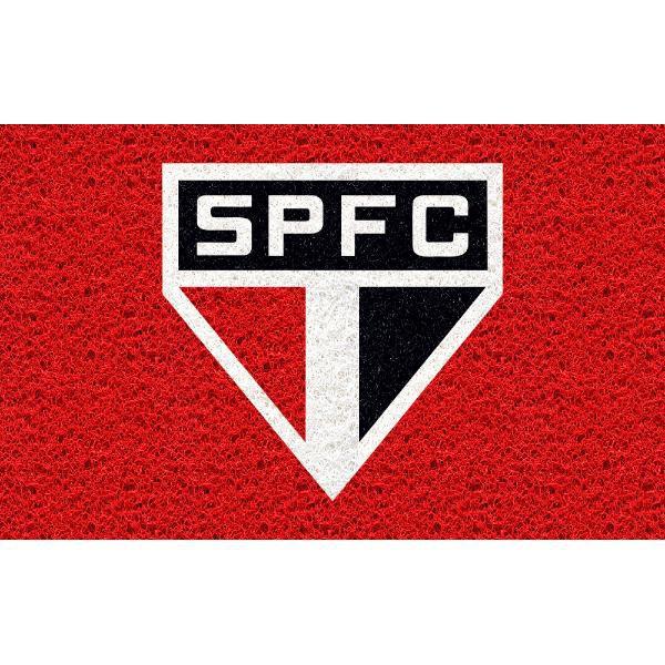 Tapete personalizado do São Paulo 60x40 cm  - Zap Tapetes e Capachos Personalizados